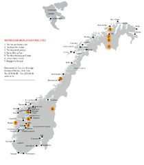 Norway World Heritage Sites Map