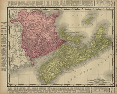 Nova Scotia Map 1896