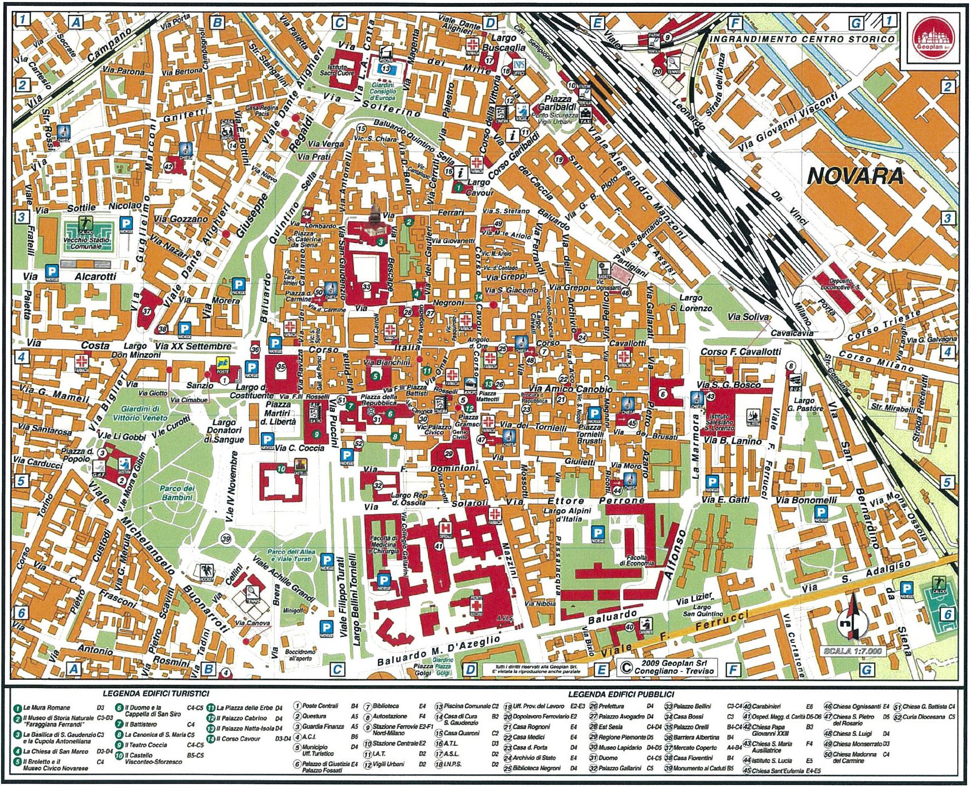 Novara Map italy Novara mappery