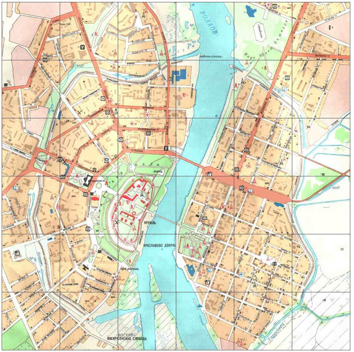 Novgorod city map see map details from kodeks uni bamberg de created