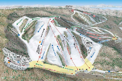 Nubs Nob Ski Area Inset Ski Trail Map