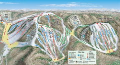 Nubs Nob Ski Area Main Ski Trail Map