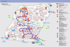 Nuremberg Tourist Map