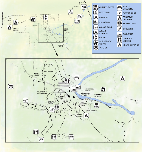 OLeno State Park Map