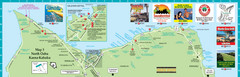 Oahu North Shore Tourist Map