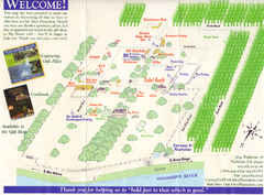Oak Alley Plantation Map