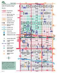 Oak Park Transit Map