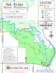 Oak Ridge Forest Preserve Map