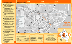 Obera Tourist Map