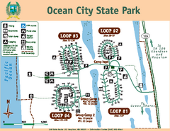 Ocean City State Park Map