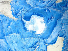 Ocean Floor Around Antarctica Map