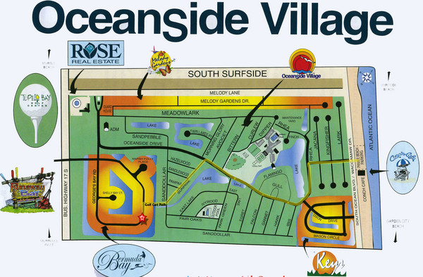 Oceanside Village Map Copy