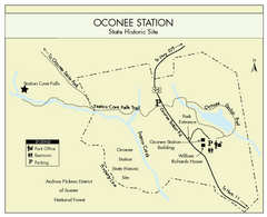 Oconee Station Map