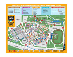 Oklahoma State Fair Park Map