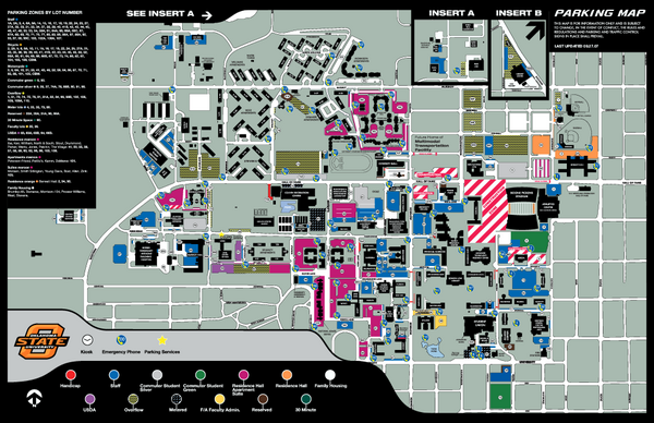 Oklahoma State University Map - Stillwater Oklahoma • mappery