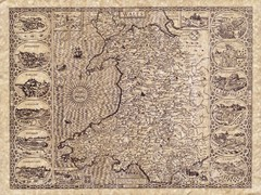 Old Maps - Wales Map