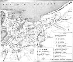 Old Oran City Map