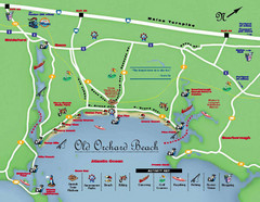 Old Orchard Beach Tourist Map