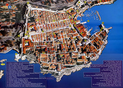 Old Town Dubrovnik Tourist Map
