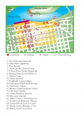 Old Town, Eureka, California Map