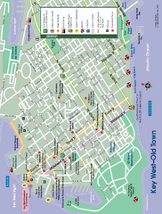 Old Town Key West, Florida Map