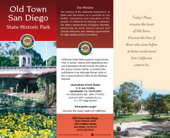 Old Town San Diego State Historic Park Map