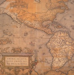 Old World map of the New World