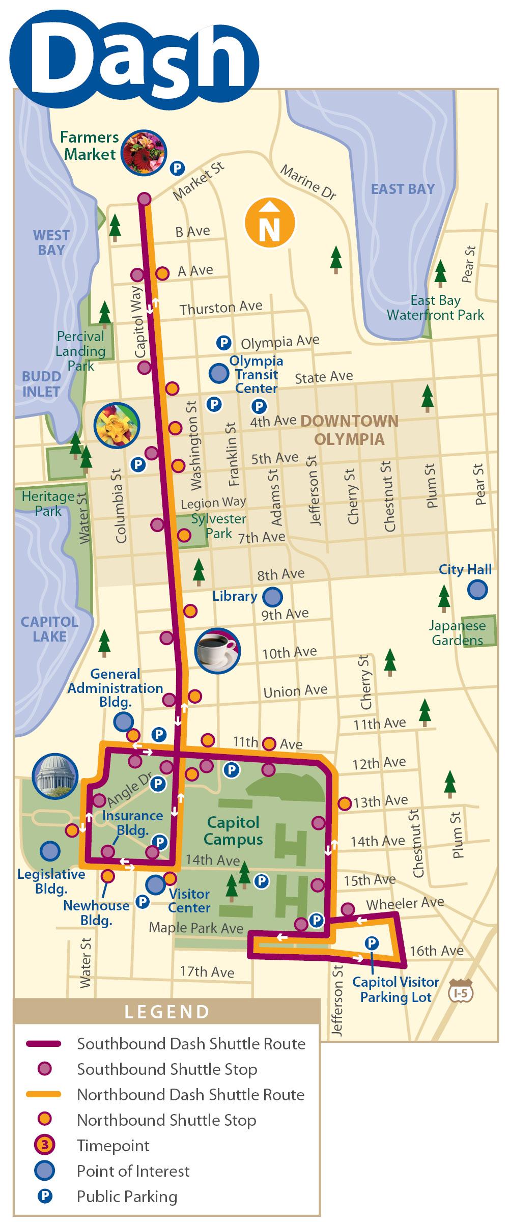 Olympia Map Olympia WA USA mappery
