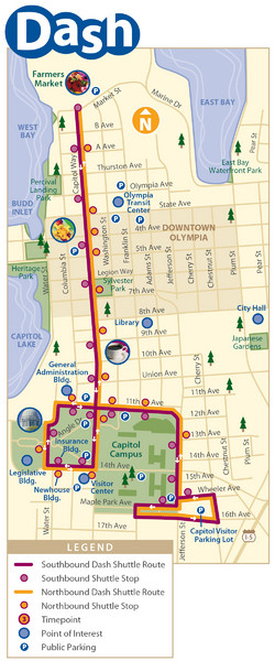 Olympia Map - Olympia WA USA • mappery