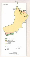 Oman Land Use Map