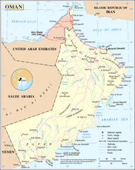 Oman Overview Map