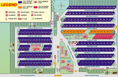 Orange Grove RV Park, Bakersfield California Map