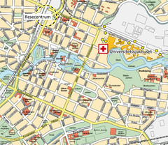 Orebro City Map