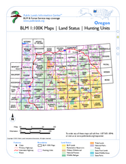 Oregon Hunting Unit/BLM Map Index