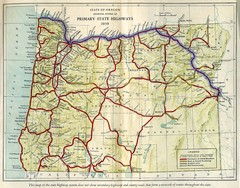 Oregon Road Map