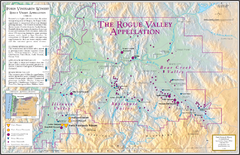 Oregon Rogue Valley wineries Map