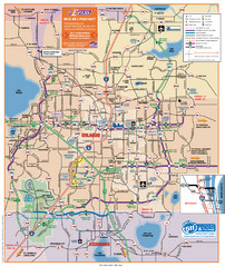 Orlando Highway Map