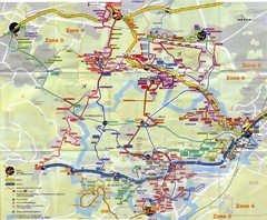 Orsay Bus Map