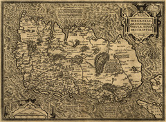Ortelius' Map of Ireland (1598)