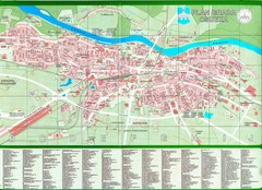 Osijek City Map