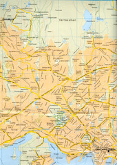 Oslo City Map