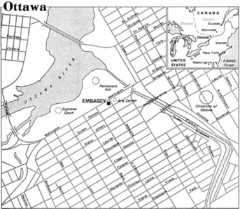 Ottawa, Ontario Tourist Map
