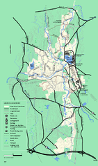 Otter River State Forest summer trail map