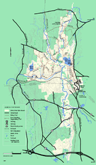 Otter River State Forest winter trail map