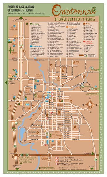Owatonna Map