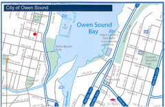 Owen Sound Map