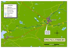 Owenea Fishery Map