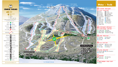 Owl's Head Ski Trail Map