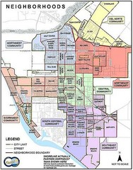 Oxnard California Neighborhoods Map
