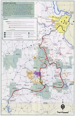 Ozark Trail Map